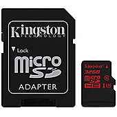 Kingston 32GB MicroSDHC Memory Card