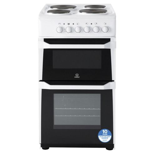 Indesit Electric Cooker, IT50EWS, White