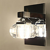 Brilliant Fortuna Wall Spotlight in Chrome
