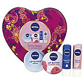 Nivea Luscious Lips Gift Tin