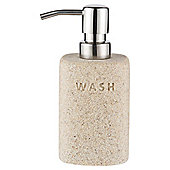 Tesco Stone Effect Word Soap Dispenser