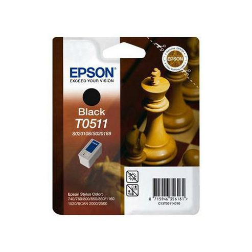 Epson BLACK INK CART C740/800/1520
