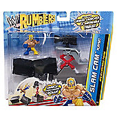 WWE Rumblers - Slam Cam Playset with Rey Mysterio Mini Figure - Mattel