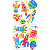 Blast Off Stickers