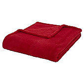 Red Cloud Fleece Throw