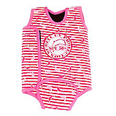 Jakabel 'Surfit' Baby Wrap - Dolphin Stripe Pink - Pink
