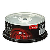 Imation Corp. 700MB 52X 25 Pack CD-R