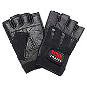 York Fitness Y Leather Training Glove, Large/X Large