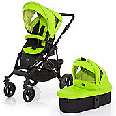 ABC Design Mamba 3 in 1 Pushchair & Carrycot (Black/Lime)