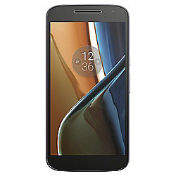 Tesco Mobile Motorola Moto G4 Black