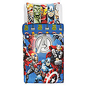 Marvel Avengers Duvet Cover Set Single
