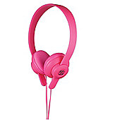 Scosche lobeDOPE On Ear Headphones (Pink)