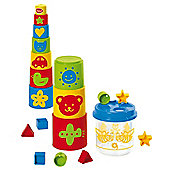 Gowi Toys 453-20 Bee Shape Sorter with Stacking Blocks