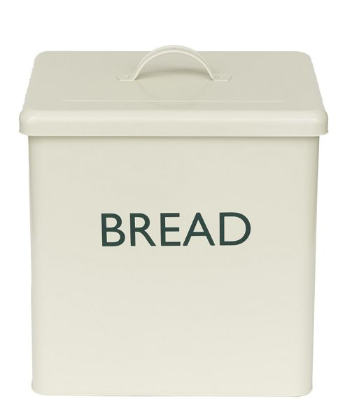 buy enamel coated bread bin champagne from our bread. Black Bedroom Furniture Sets. Home Design Ideas