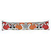 Country Club Woodland Design Tapestry Draught Excluder, Squirrel
