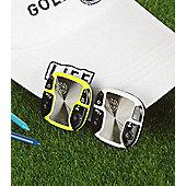 Caddietech Unisex Voice Golf GPS in White