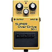 Boss SD-1 Super Overdrive Compact Guitar Effects Pedal