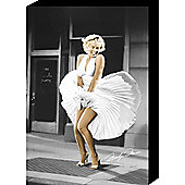 Marilyn Monroe Dress Canvas 60x40 cm