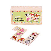 Bigjigs Toys BJ736 Farm Dominoes