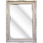 D & J Simons Berkeley Mirror - Ivory - 96cm H x 71cm W