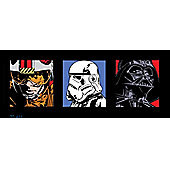 Star Wars Triple Pack, Box Art Squares