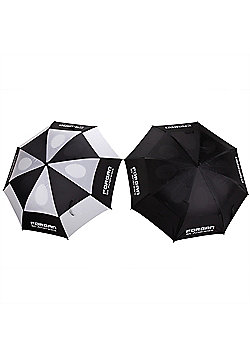 "2 X Forgan Deluxe Double Canopy 64""/163Cm Umbrellas"