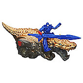 Transformers Age of Extinction - Dino Sparkers Optimus Prime and Grimlock Figures