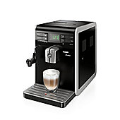 Philips HD876801 Saeco Moltio Super-Automatic Espresso Machine with Milk Frother and Adjustable Grinder in Black