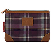 Dolland and Devaux Wash Bag Tweed