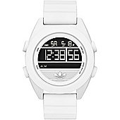adidas Originals Santiago XL Digital Unisex Sports Watch White