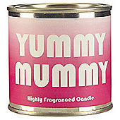 Wax Lyrical Yummy Mummy Slogan Candle Tin