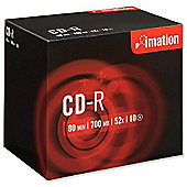 Imation CD-R 700MB 80 minute 52X Disc, 10-pack