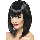 Adult Vamp Wig Black