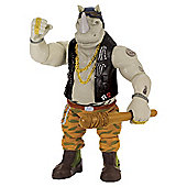 Teenage Mutant Ninja Turtles Movie 2 Super Deluxe Rocksteady Action Figure