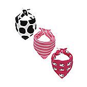 Cow Bandana Bibs - 3 Pack