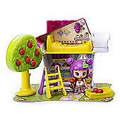 Pinypon Little Doll Houses Playset - White