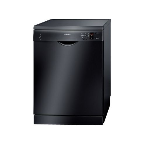 Bosch SMS50T06GB Fullsize Dishwasher, A+ Energy Rating, Black