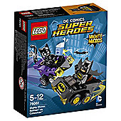 LEGO Super Heroes Mighty Micros Batman vs Catwoman 76061