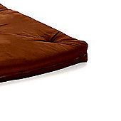 Comfy Living 2ft6 Small Single Futon Mattress in Chocolate