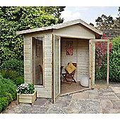 8ft x 8ft Honeybourne Summerhouse 8 x 8 Garden Wooden Summerhouse 8x8