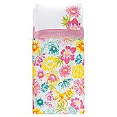 Tesco Tropical Floral Duvet Set Single