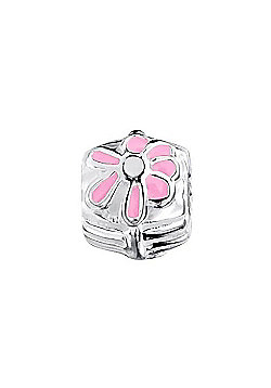 Jo For Girls Pink Daisy Slide On Bead