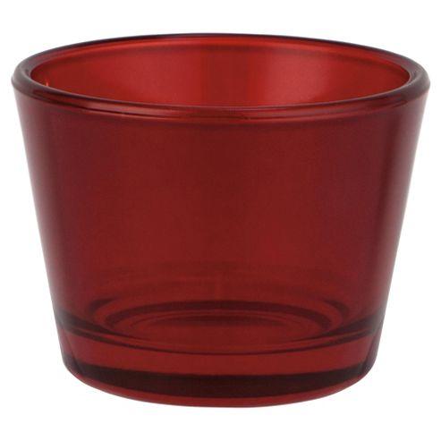 Basic Tea Light Holder Red 4Pk