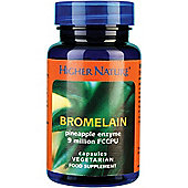 Higher Nature Bromelain Veg Capsules