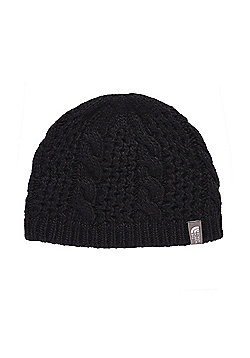 The North Face Ladies Cable Minna Beanie - Black