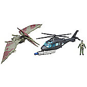 Jurassic World Capture Vehicle - Pteranodon vs Helicopter