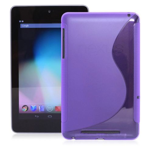 U-bop gSHELL Tough All-Body Gel Case Smoke Purple - For Google Nexus 7