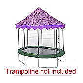 7ft x 10ft Oval Butterfly Canopy Trampoline Tent