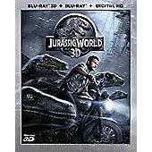 Jurassic World 3D Blu-ray