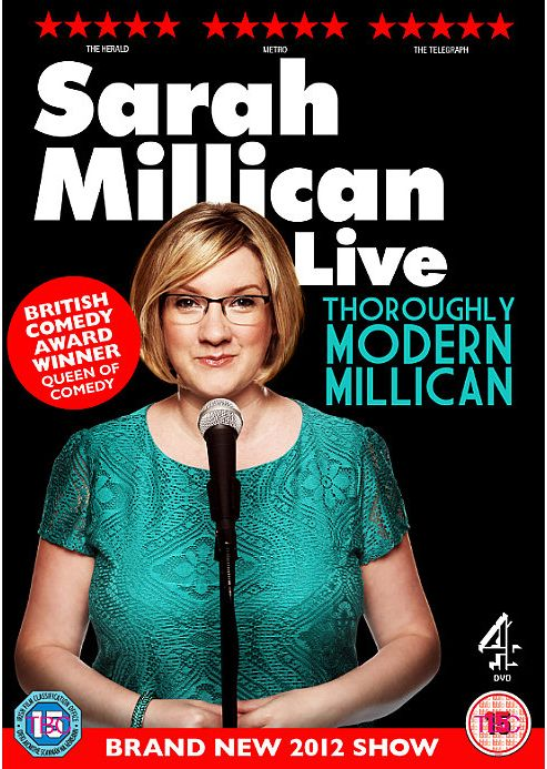Sarah Millican - Thoroughly Modern Millican Live (DVD)